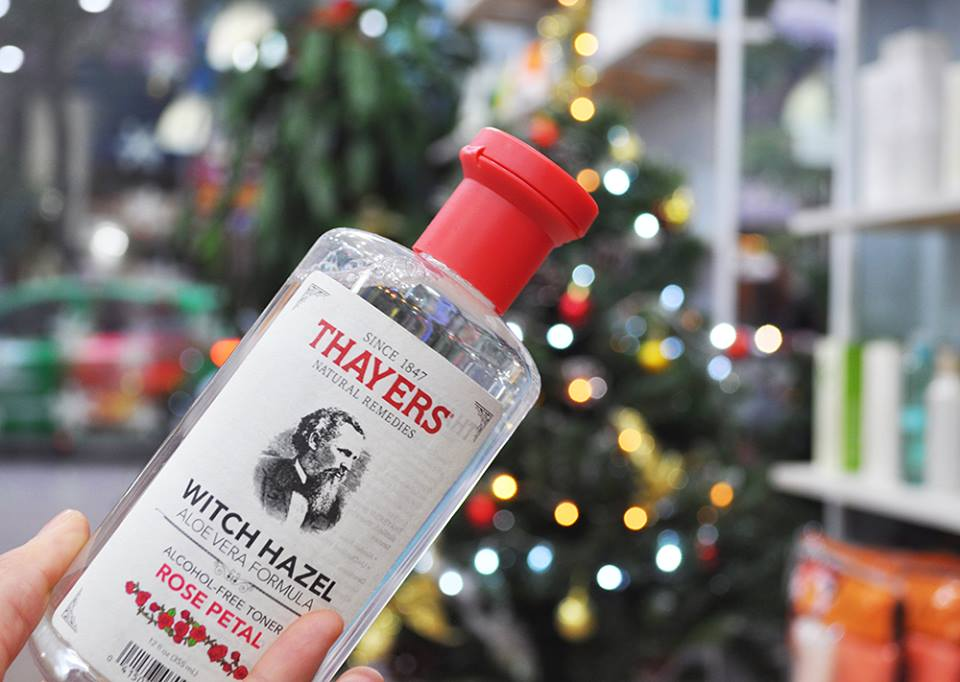 Nước hoa hồng Thayers Alcohol Free Rose Witch Hazel Toner