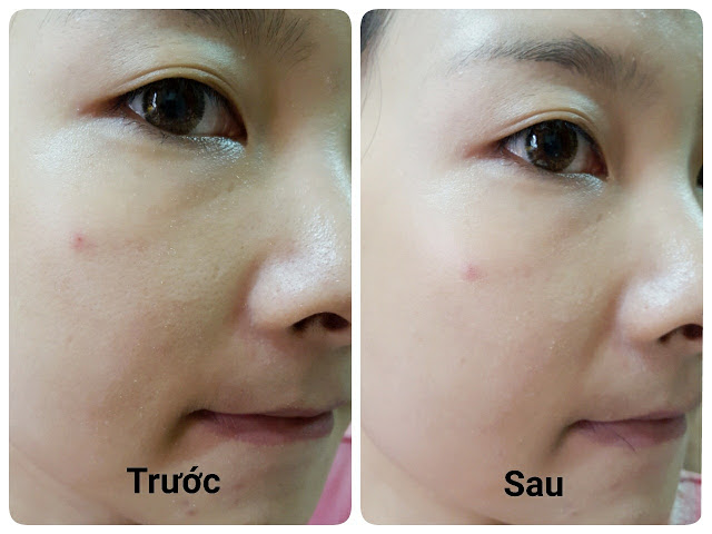 review the face shop CC Cream Full Stay 24HR