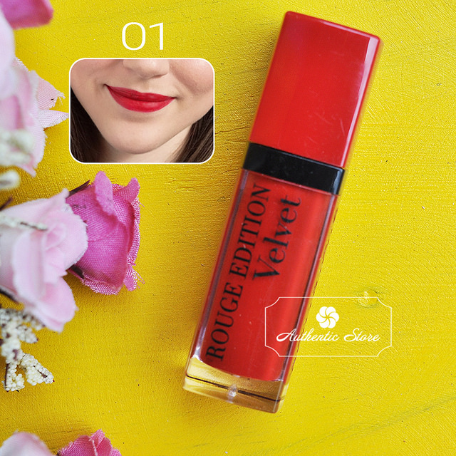 Son kem lì Bourjois rouge edition velvet