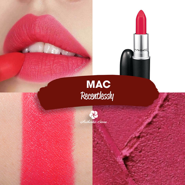 MAC Relentlessly Red