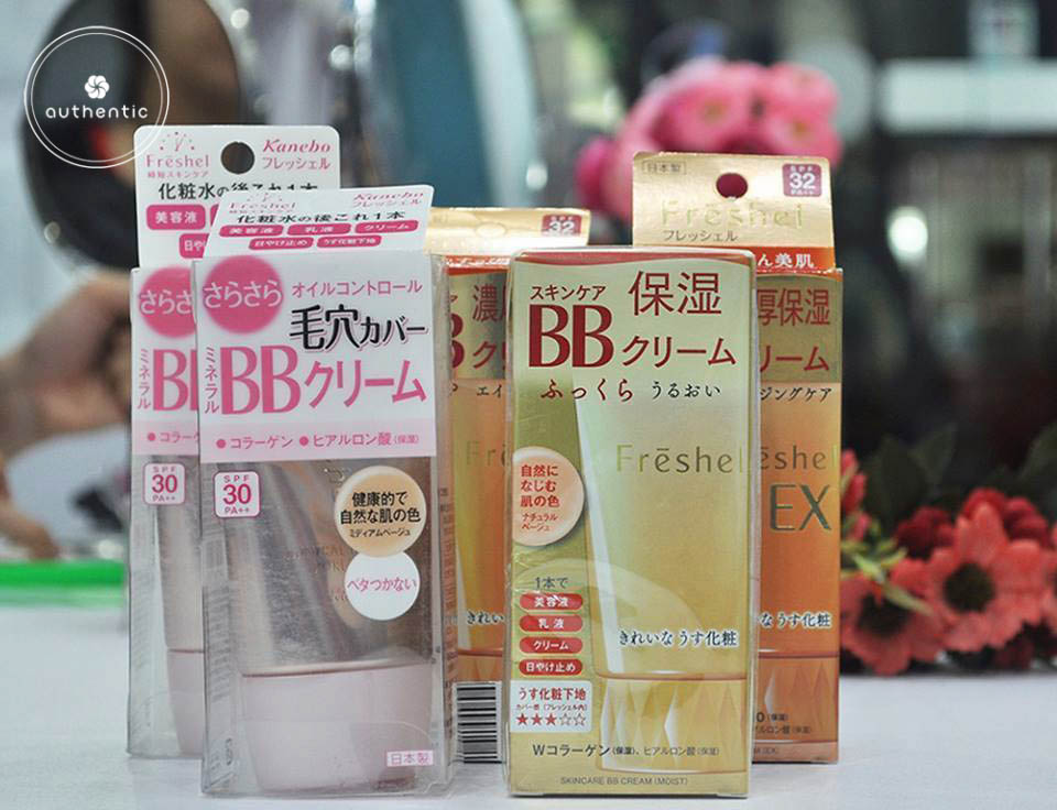 BB Cream Kanebo Freshel Mineral 5 in 1