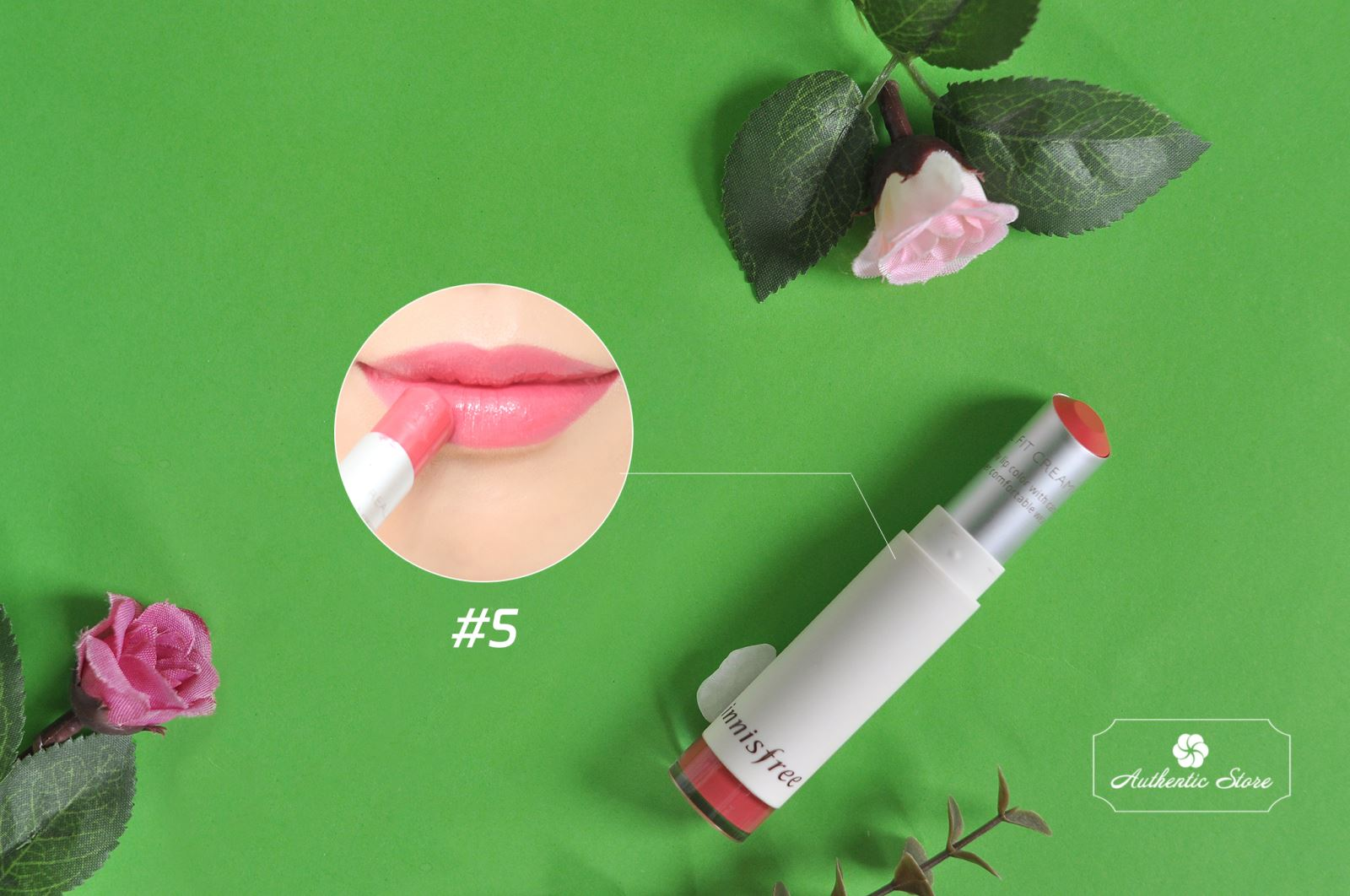 innisfree real fit creamy lipstick