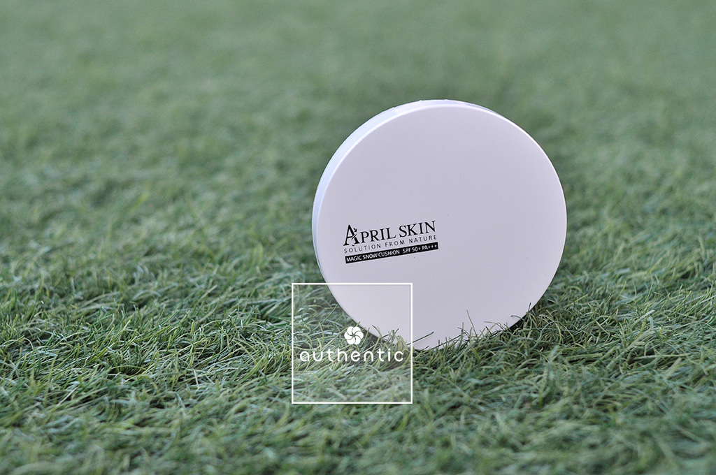 April Skin Magic Snow Cushion White SPF50