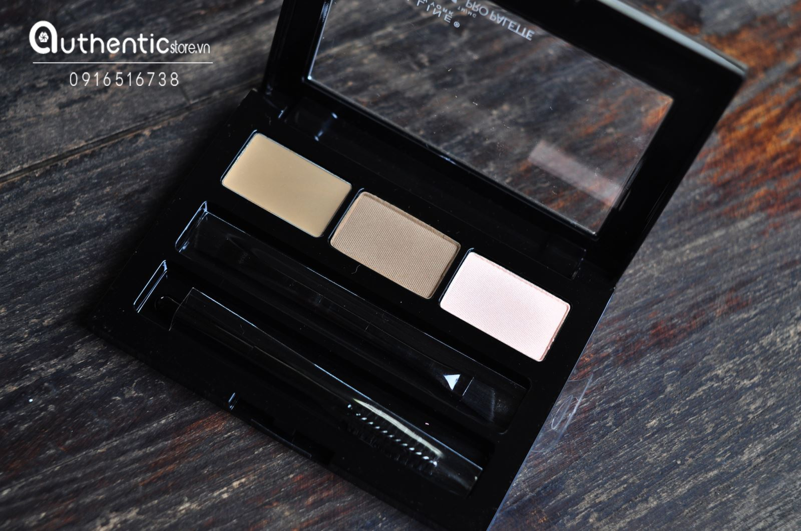 Bột tán mày Maybelline Brow Drama Pro Palette