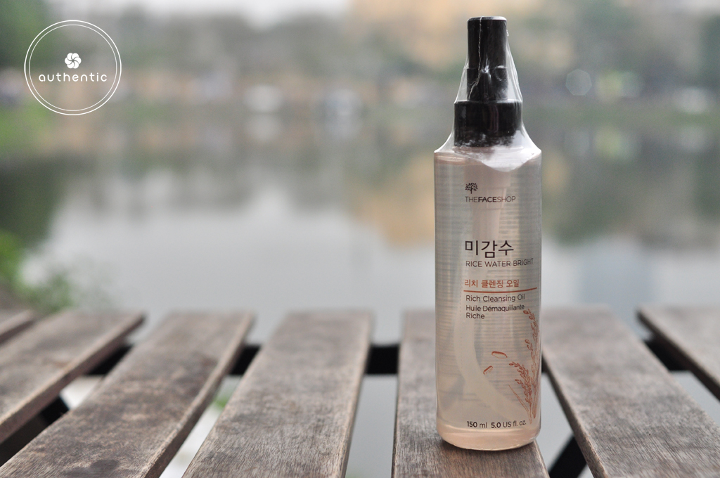 Dầu tẩy trang gạo The Face Shop Rice Water Bright Cleansing Light Oil