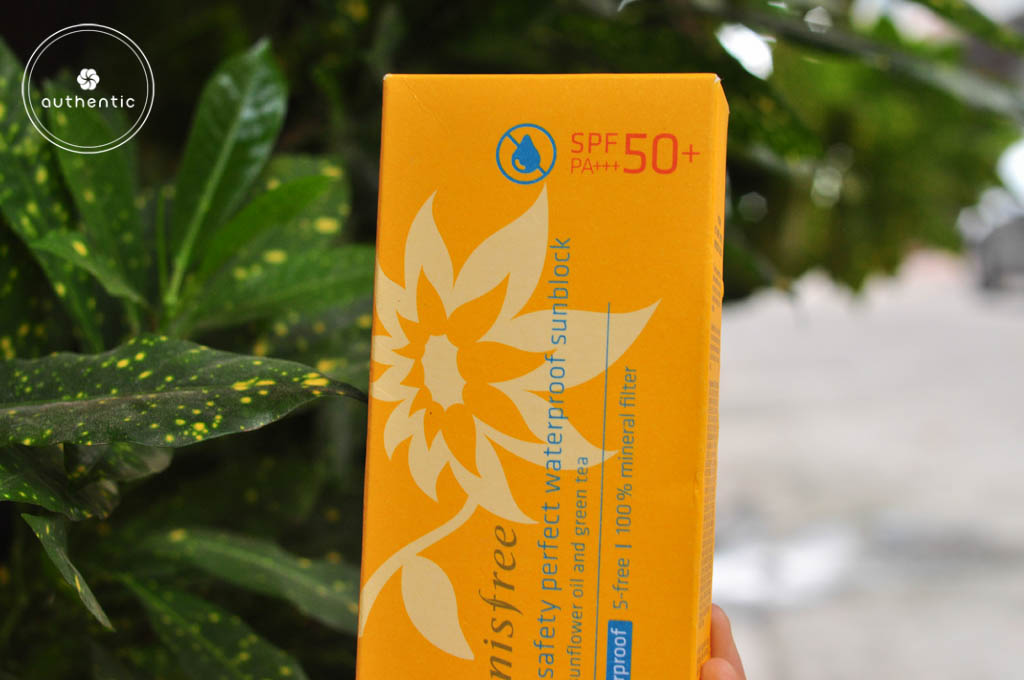 ​Kem Chống Nắng Innisfree Eco Safety Waterproof  Sunblock SPF 50