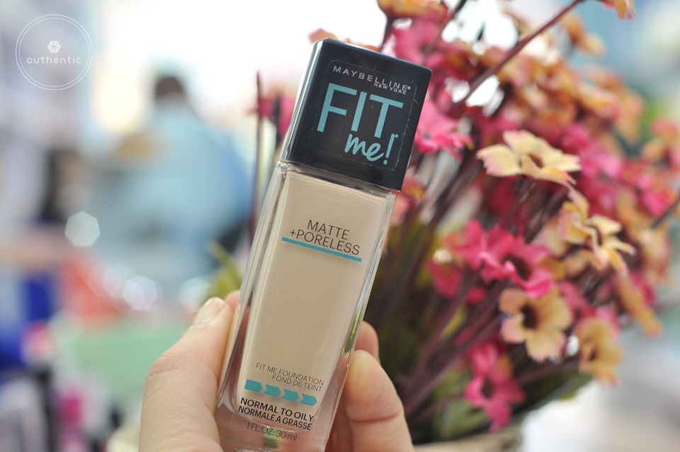 Kem nền Maybelline Fit Me Matte and Poreless