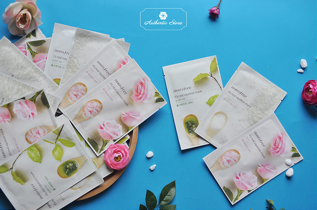 Mặt nạ giấy Innisfree Its real squeeze mask