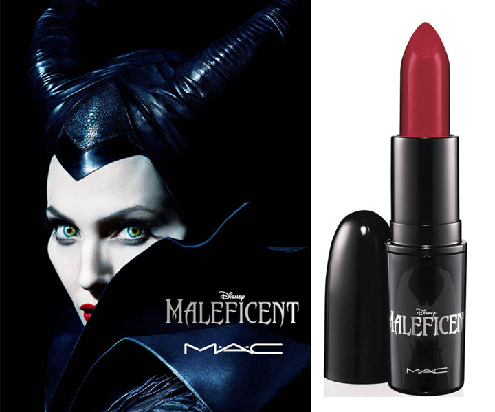 Son MAC Maleficent lipstick
