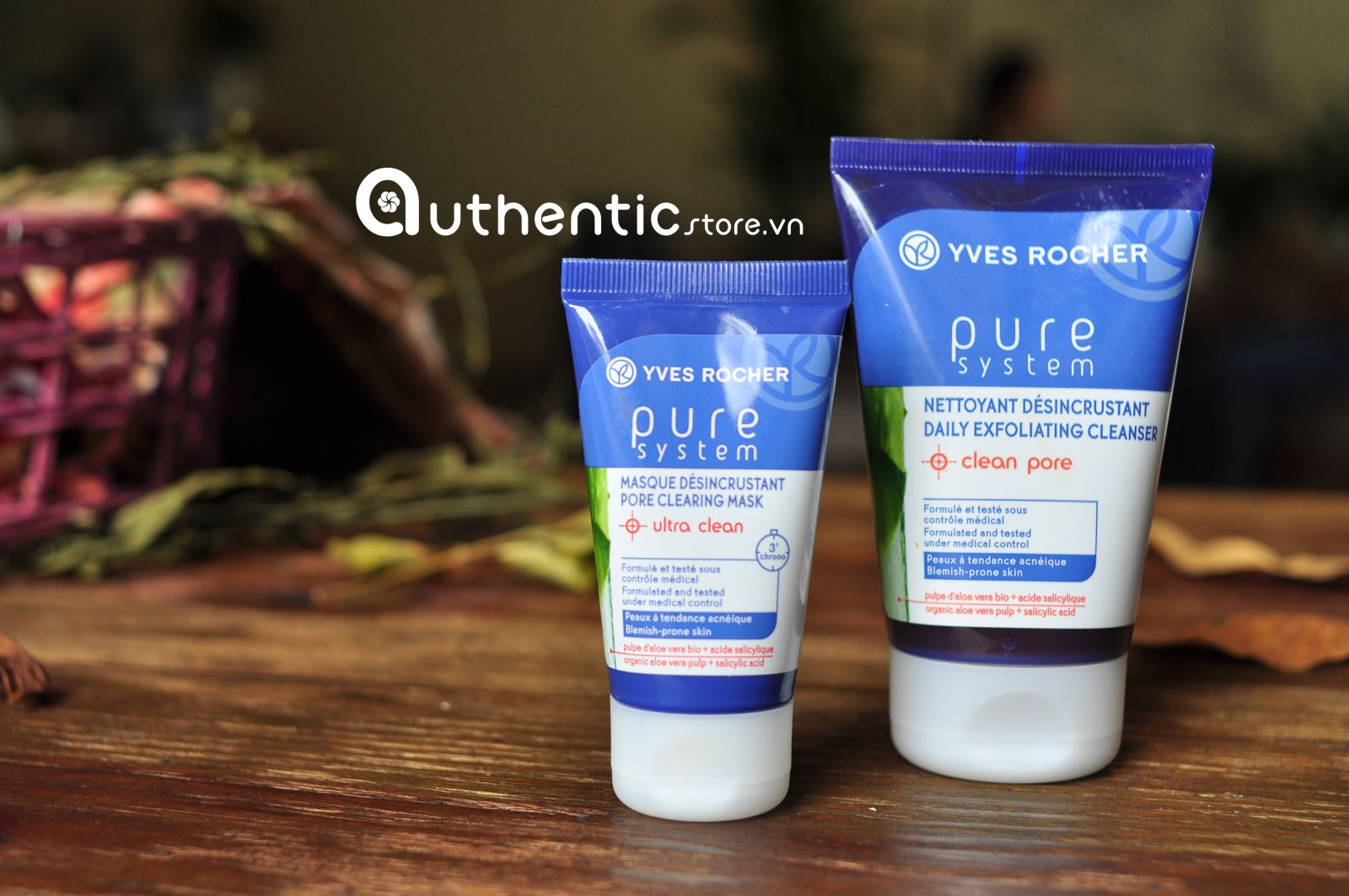 Mặt nạ Yves Rocher pure system