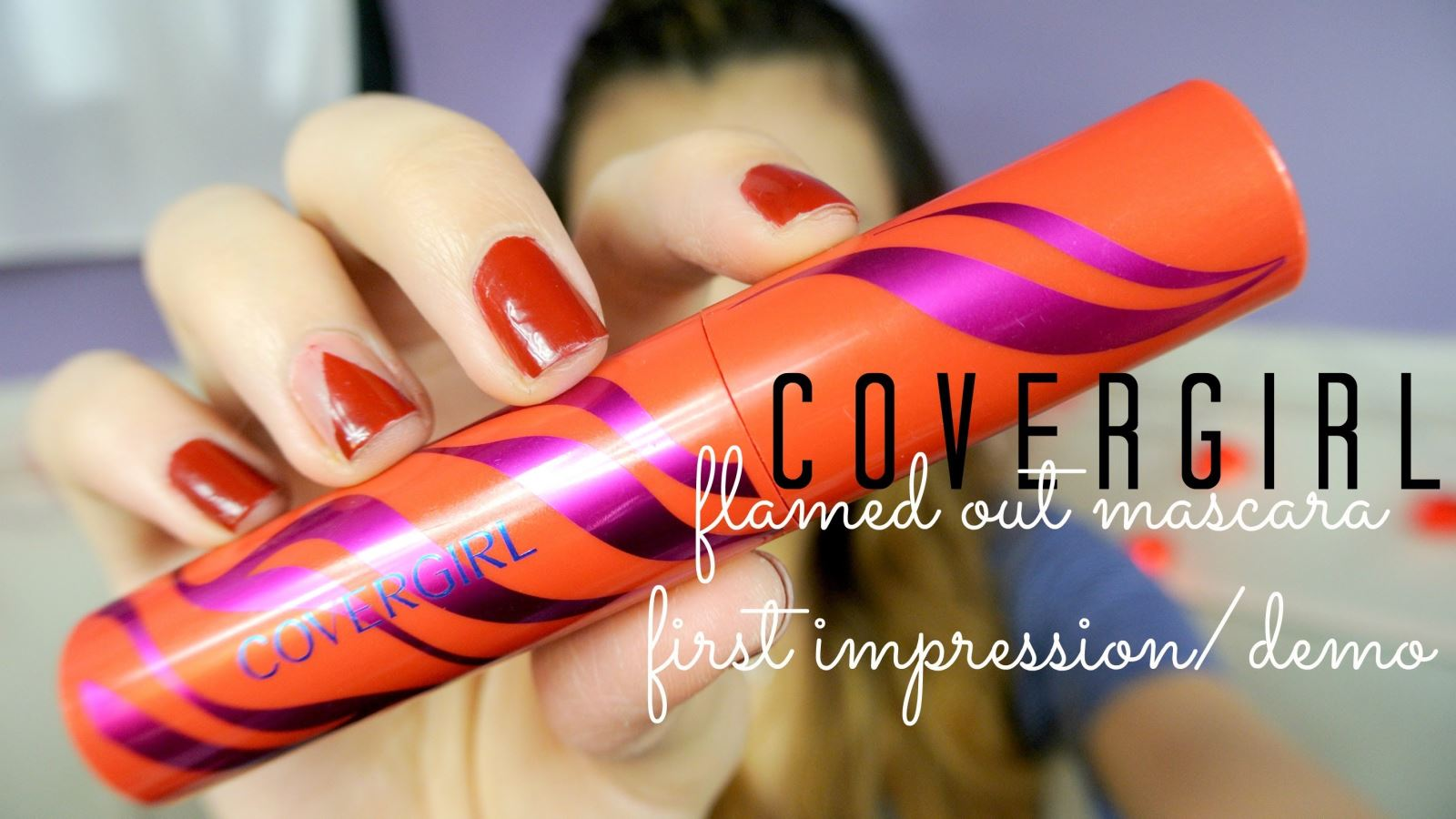 Mascara CoverGirl Flamed Out Water Resistant