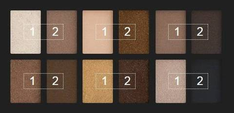 Phấn mắt Maybelline The Nudes