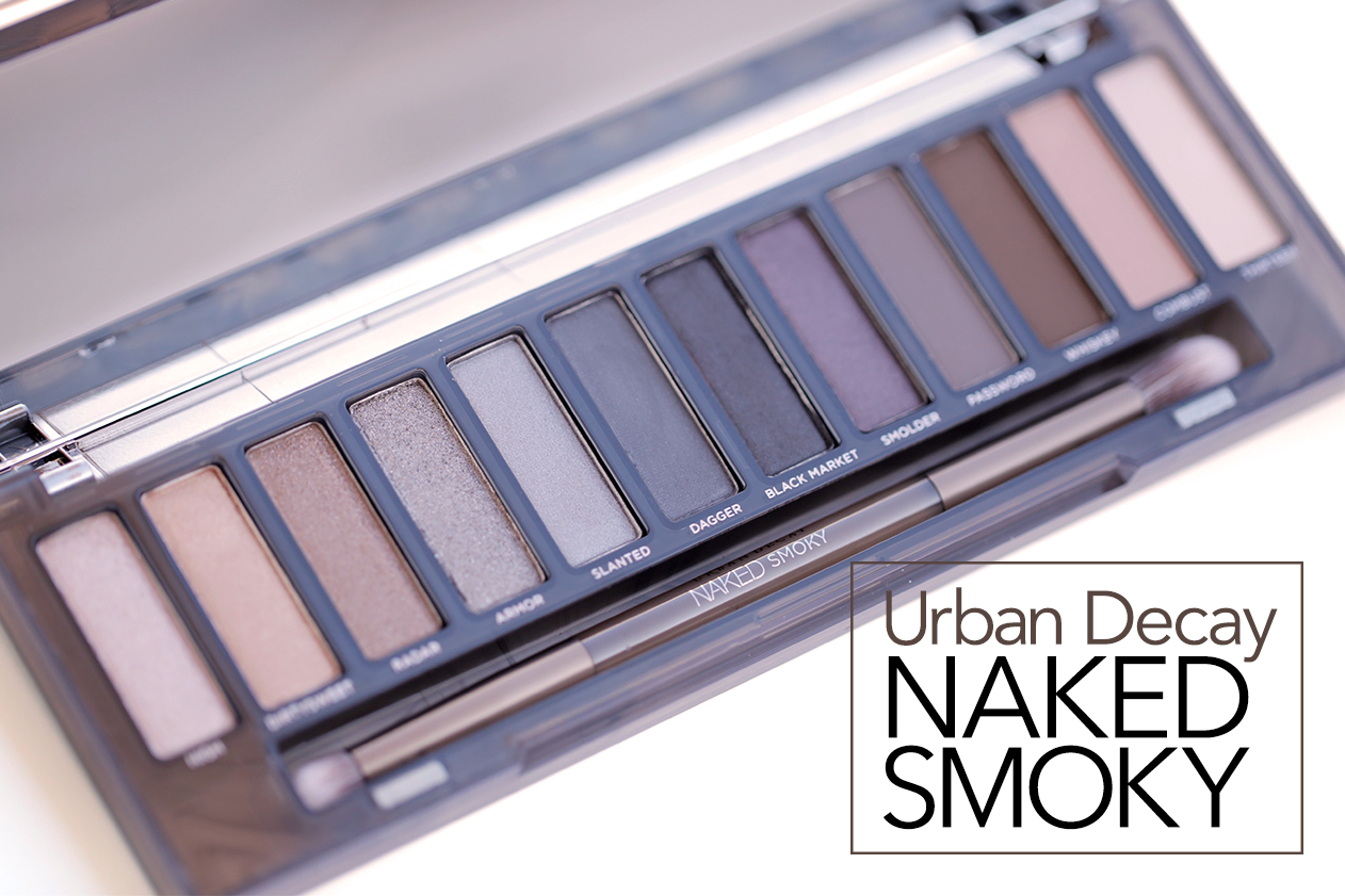 Bảng Phấn mắt Naked Urban Decay Smoky