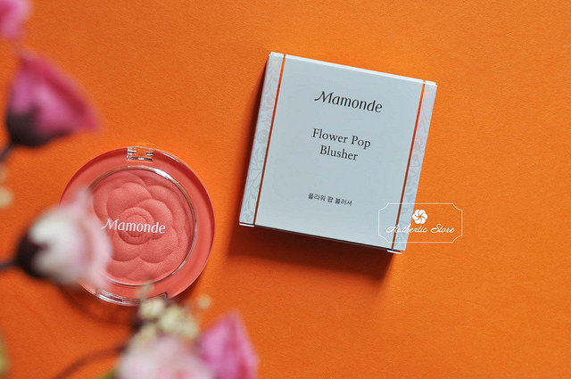 Phấn Má Mamonde Flower Pop