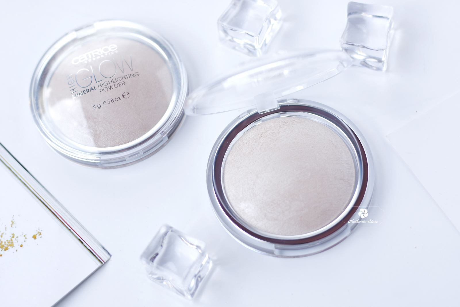 Phấn bắt sáng Catrice High Glow Highlighting Mineral Powder