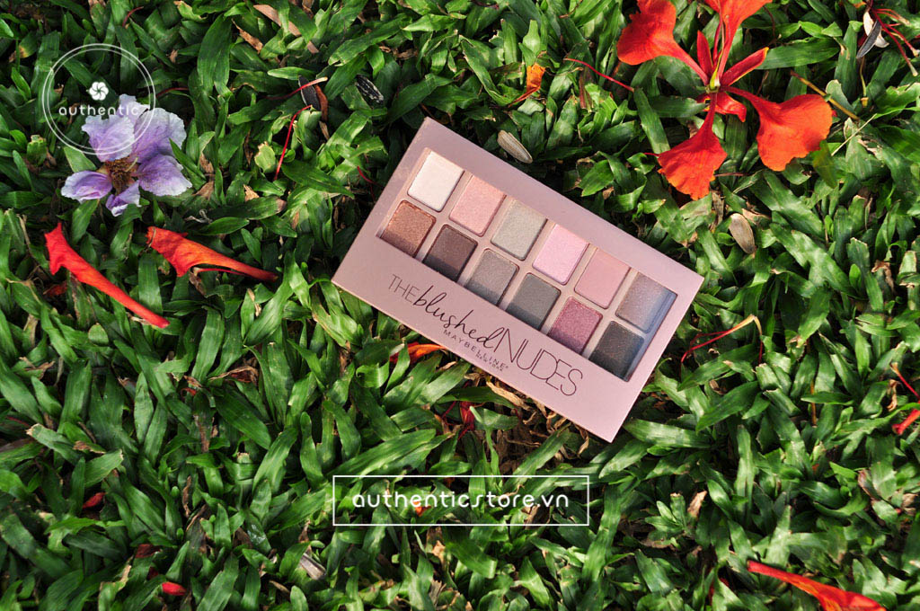 Phấn mắt Maybelline The Blushed Nudes