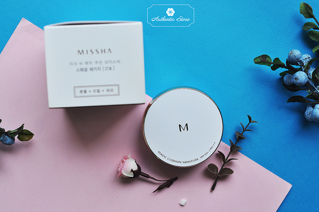 Phấn nước Missha  Magic Cushion Moisture SPF 50
