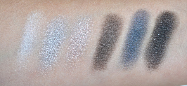 Phấn mắt Maybelline The Rock Nudes swatch