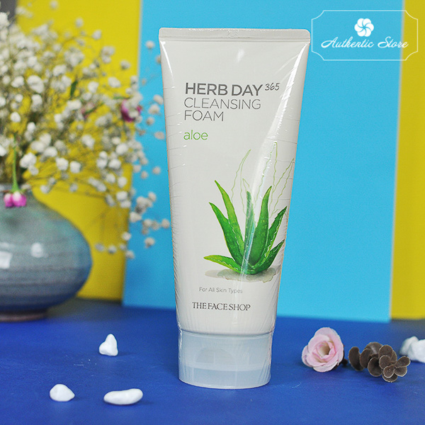 Sữa rửa mặt Herb day 365 The Face Shop