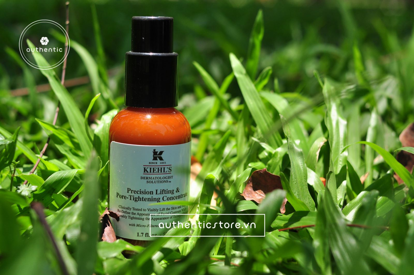 Serum se khít lỗ chân lông Kiehl's Precision lifting and pore tightening concentrate (2)  (Vỏ hộp)