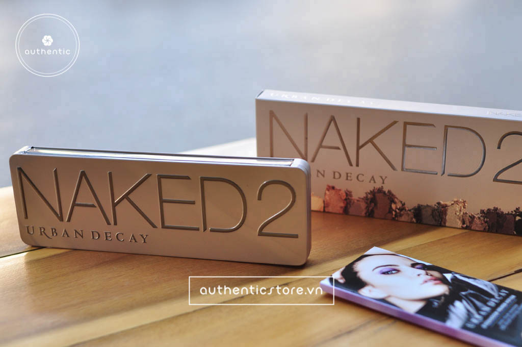 Set phấn mắt Urban Decay Naked 2