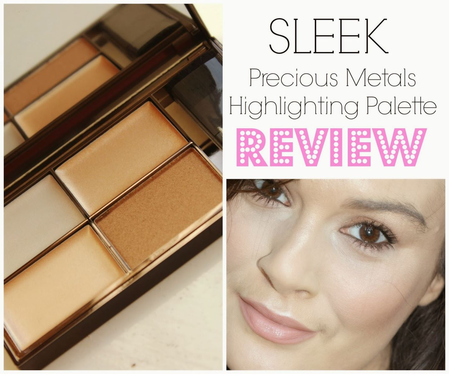 SLEEK MAKEUP highlighting palette precious metals