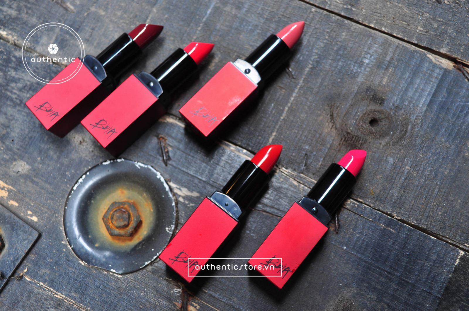Son BBia Last Lipstick Red Series