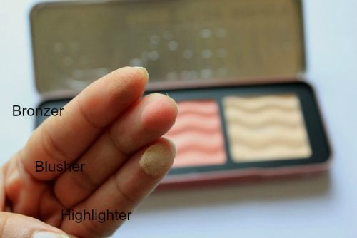 W7 The Cheeky Trio Bronzer Blusher Highlighter