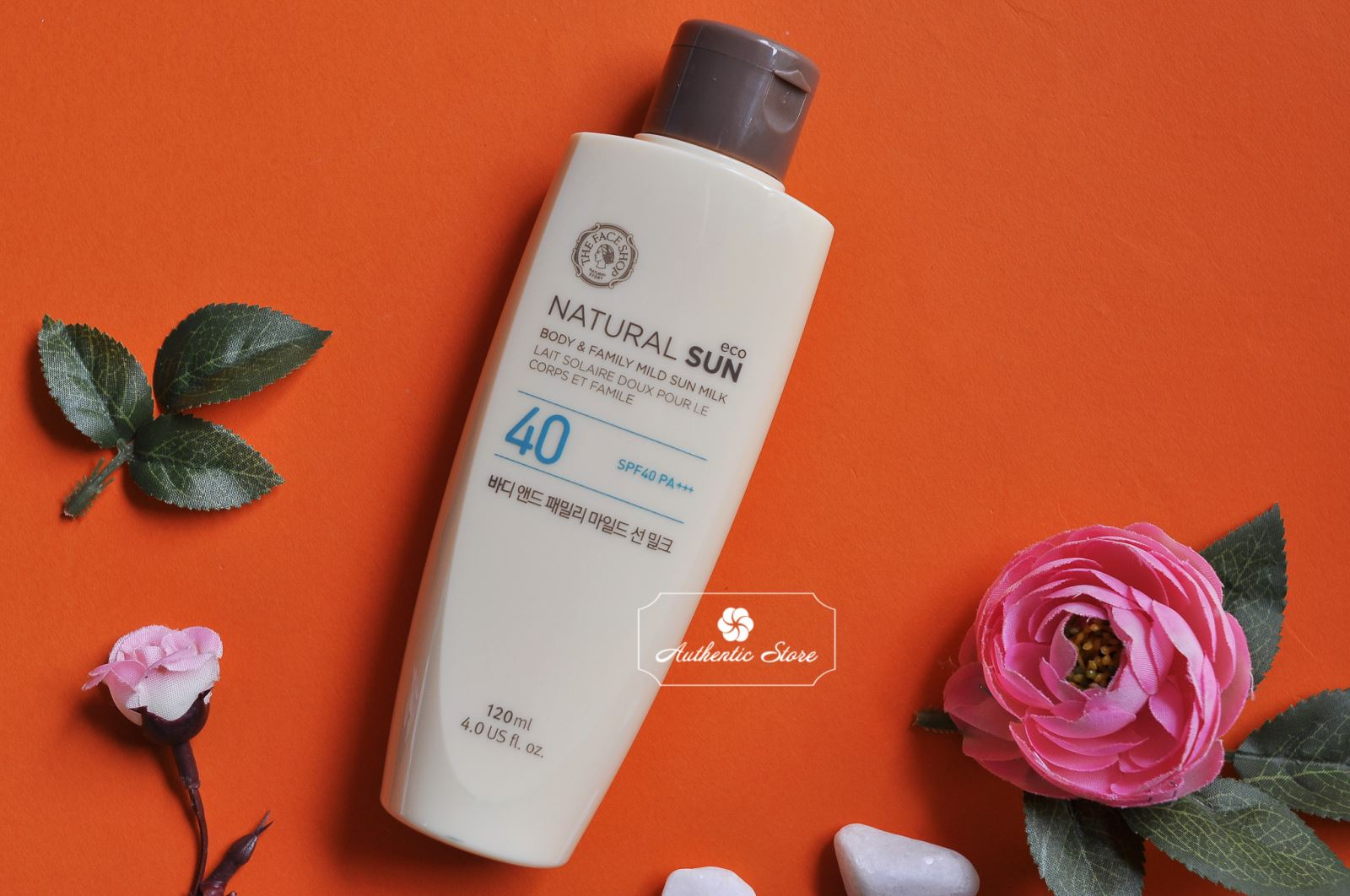 The Face Shop Natural Sun Body Sun Milk SPF40