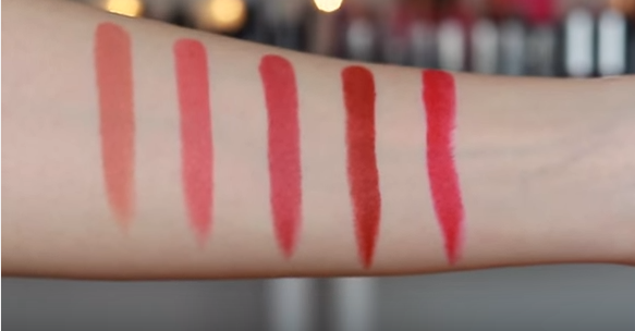 Son BBia Last Lipstick Green Series swatch