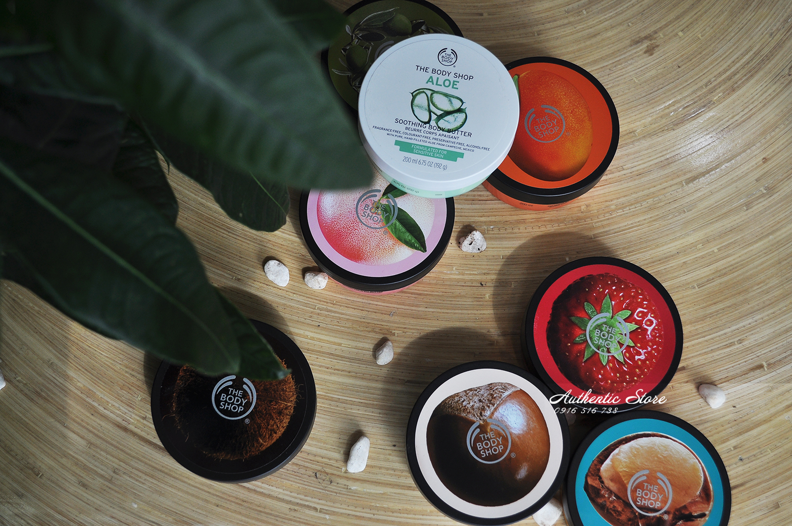 Dưỡng thể The Body Shop Olive body butter