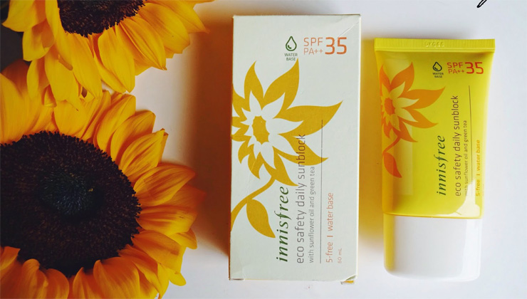 Kem Chống Nắng Innisfree Eco Safety Daily Sunblock water base SPF 35