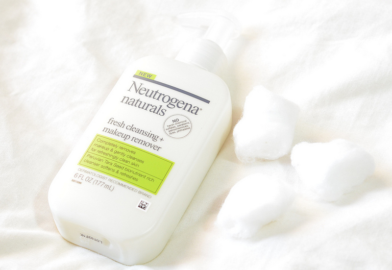 Sữa rửa mặt tẩy trang Neutrogena Naturals fresh cleansing and makeup remover