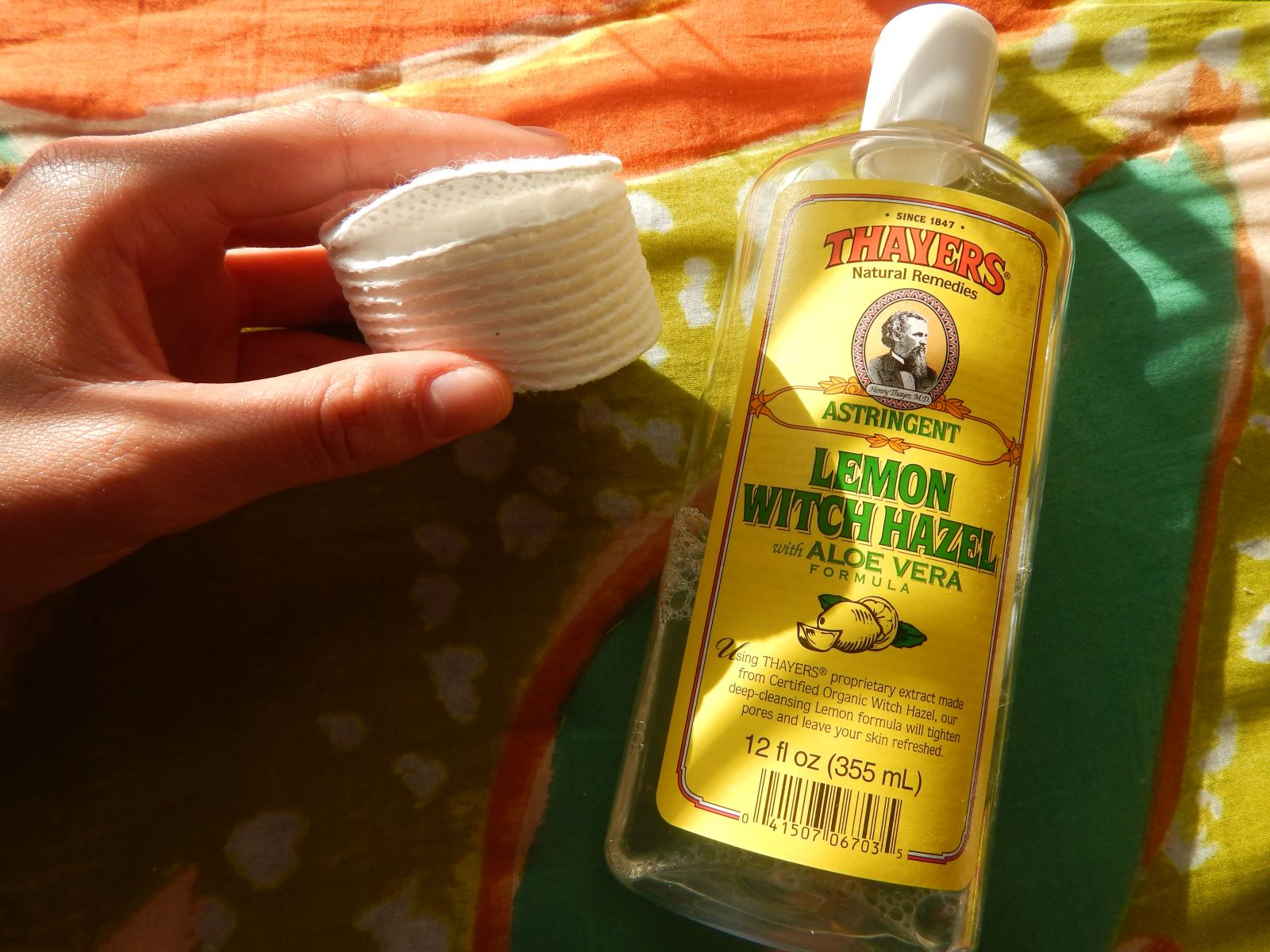 [Thayers] Alcohol Free Toner, Lemon Witch Hazel with Aloe Vera Formula