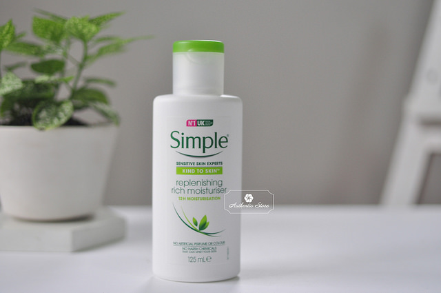kem dưỡng ẩm simple replenishing rich moisturiser