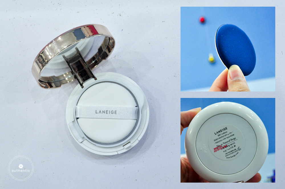 BB Cushion Laneige Lucky Holiday Collection SPF 50+ PA+++
