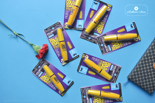Maybelline Volum' express The Colossal washable mascara