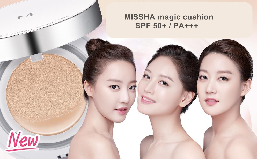 Missha M Magic Cushion Moisture SPF 50