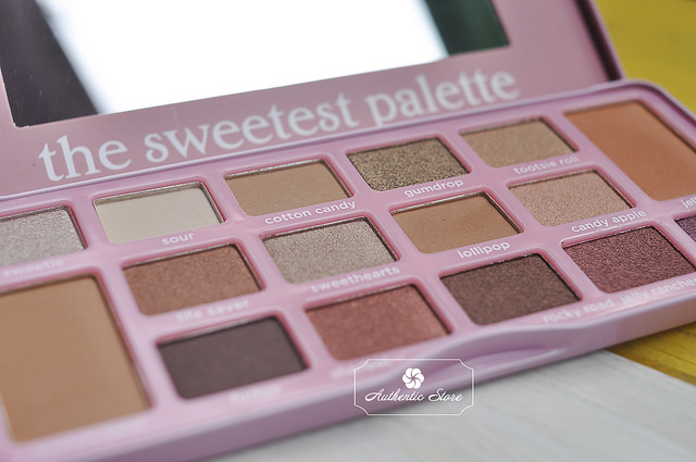 phấn mắt beauty creation the sweetest