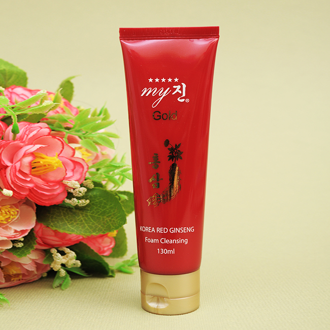 Sữa rửa mặt sâm My Gold Korean Red Ginseng Foam Cleansing